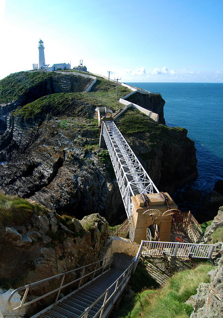 Bridge to the lighthouse