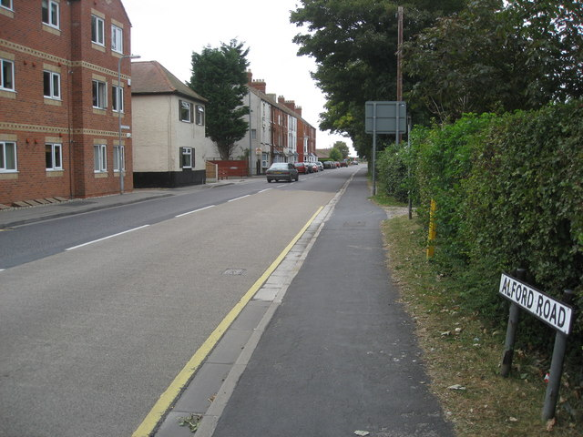 Sutton on Sea -  Alford Road (A1111)