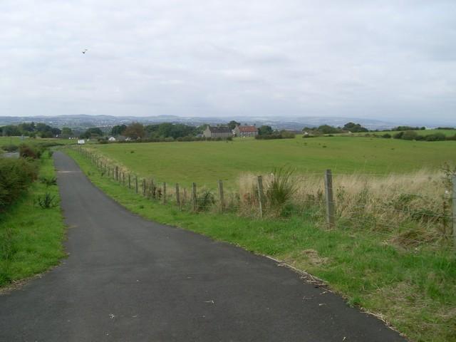 View to Carmunnock from Cathkin Braes