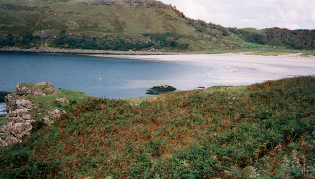 Bracken, south side, Calgary Bay