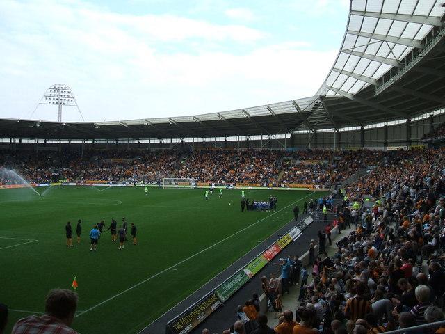 Match day at the KC Stadium