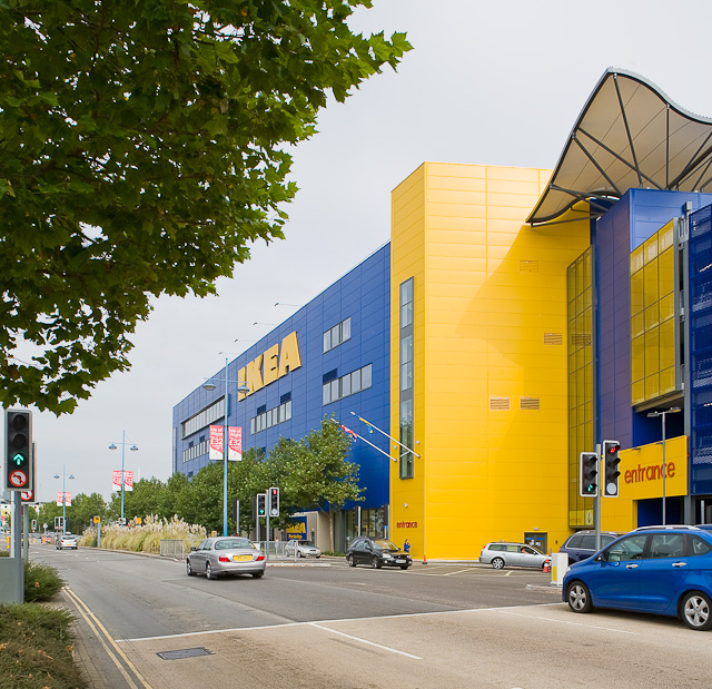 IKEA shop, West Quay Road