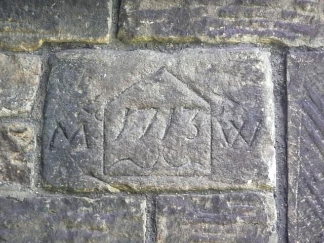 Date stone, Wortley Top Forge, Stocksbridge