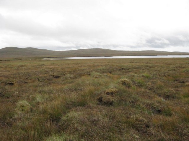 Moorland and Loch nan Stearnag