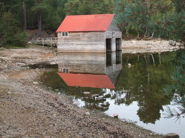 Boathouse on Loch Vaa