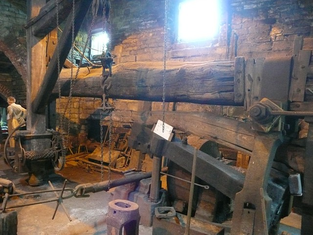 No. 1 hammer, Wortley Top Forge, Stocksbridge