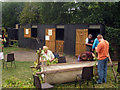 TQ7458 : Hopper Huts at The Museum of Kent Life, Cobtree, Lock Lane, Sandling, Kent by Oast House Archive