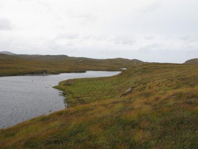 Loch Cleit Steirmeis from above