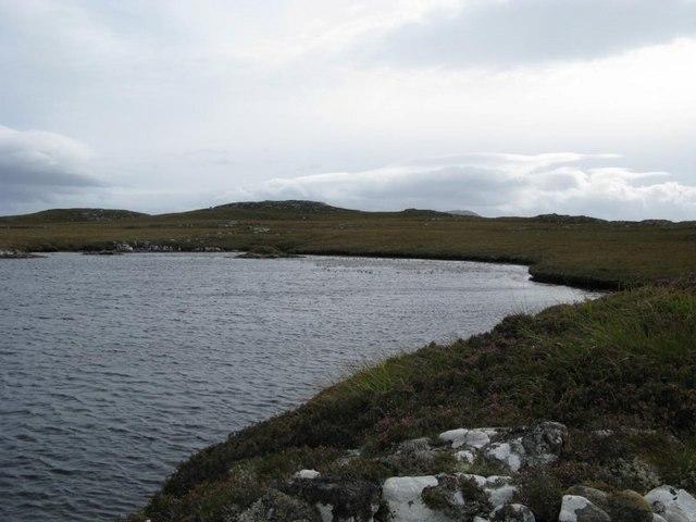 Unnamed loch south of Loch Cleit Steirmeis