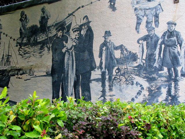 Topsham, Mural