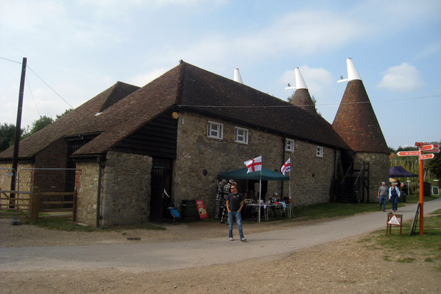 Oast House at The Museum of Kent Life, Cobtree, Lock Lane, Sandling, Kent