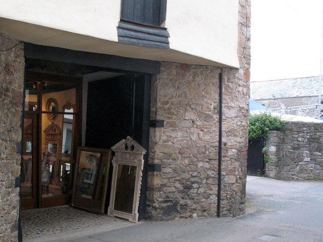 Topsham, Antique Shop