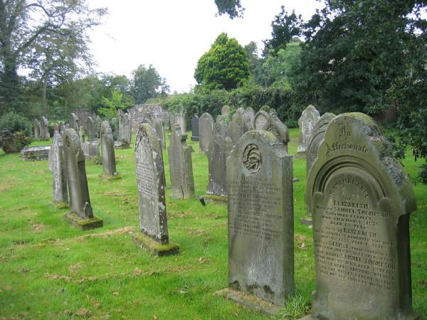 Graveyard Church of St Maurice, Eglingham