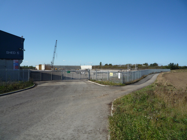 Construction Site near New Holland