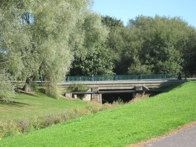 Stephenson Way road bridge Newton Aycliffe
