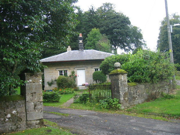 Gate lodge for Eglingham Hall