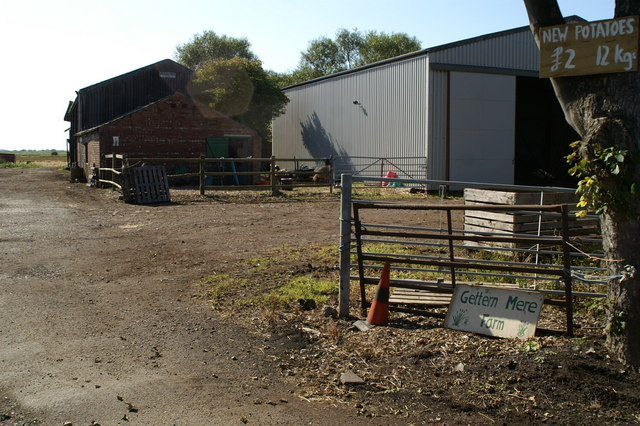 Gettern Mere Farm entrance