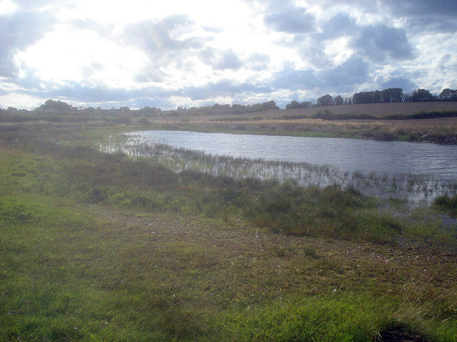 Pond in the Sence Valley - 2