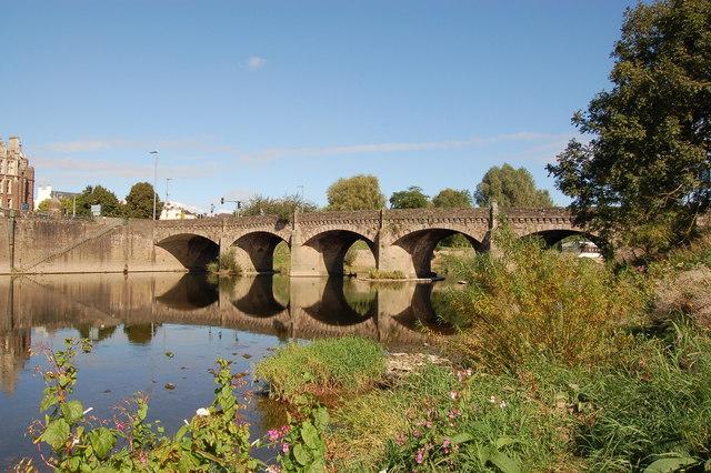 Wye Bridge at Monmouth