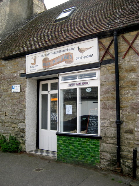 Old fashioned butcher shop - Corfe