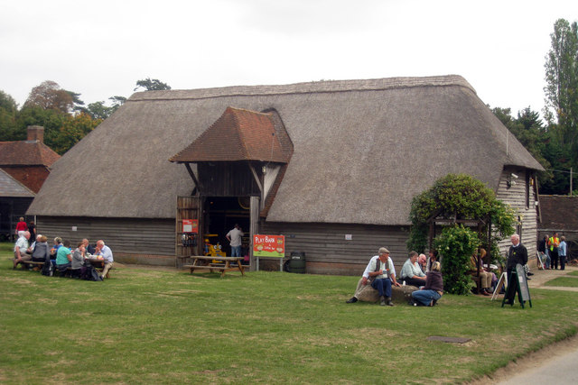 Vale Barn at The Museum of Kent Life