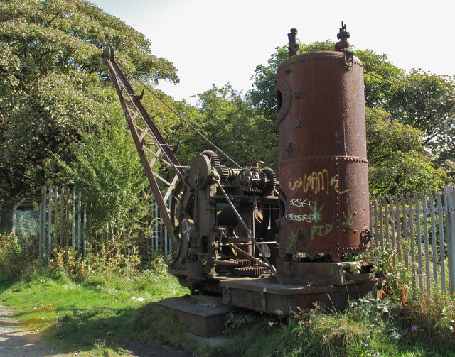 Steam Powered Crane