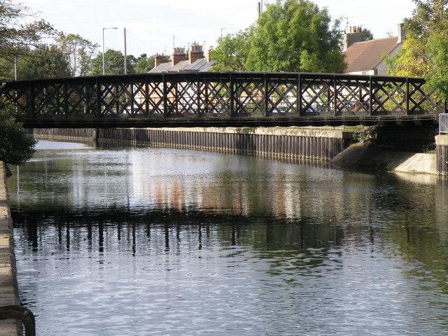 The old railway bridge