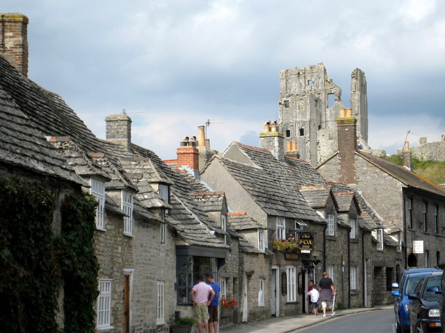 Old cottages West Street - Corfe Castle