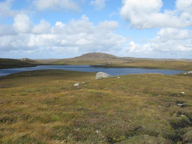 Loch Ibheir with Trealabhal behind