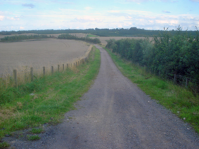Farm track in the Sence Valley