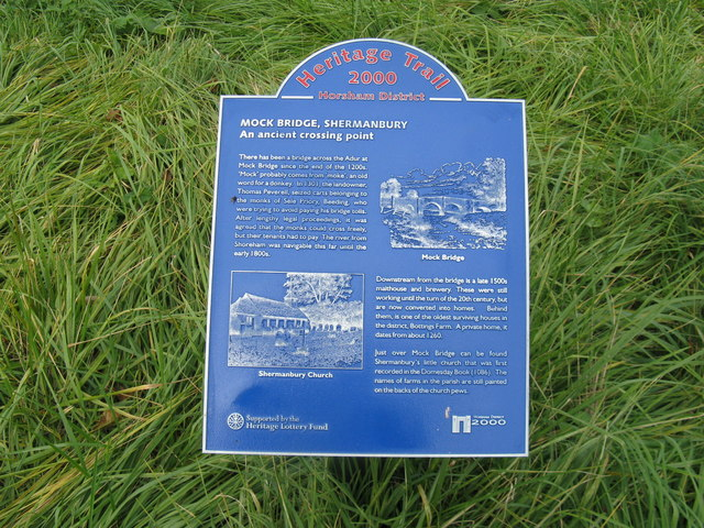 Information sign from the 2000 Heritage Trail