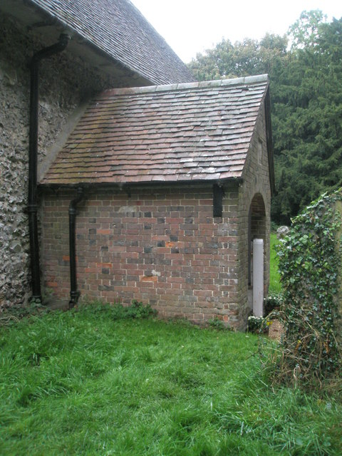 The church porch at St Mary Magdalene, West Tisted