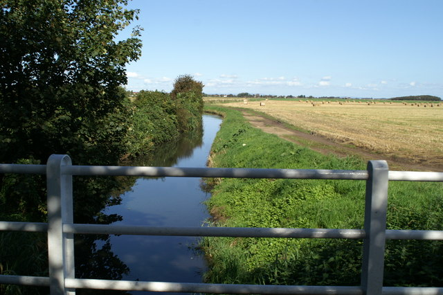 Drainage ditch near White Otter Farm