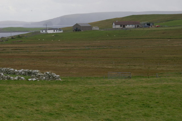 View to Westerhouse from Muness