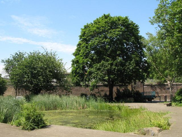 Twinkle Park, Watergate Street / Borthwick Street, SE8