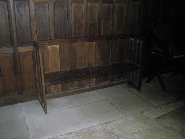 Modest choir stall within St Mary Magdalene, West Tisted