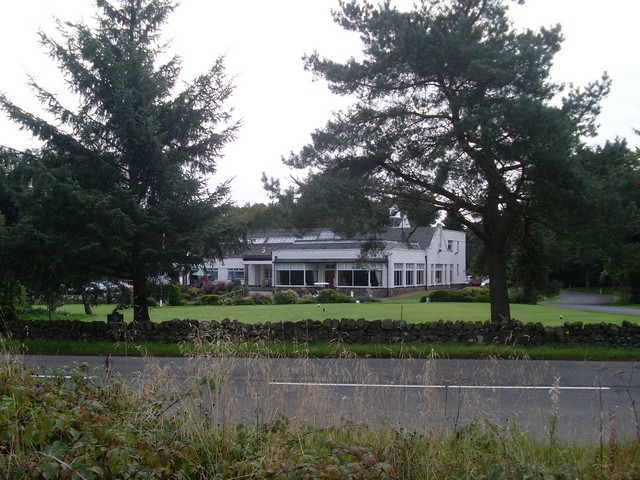 Clubhouse of Cathkin Braes Golf Course