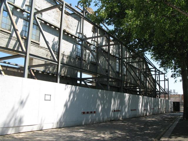 Building site, Borthwick Street, SE8