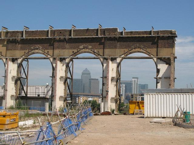 Building site, Borthwick Street, SE8 (2)