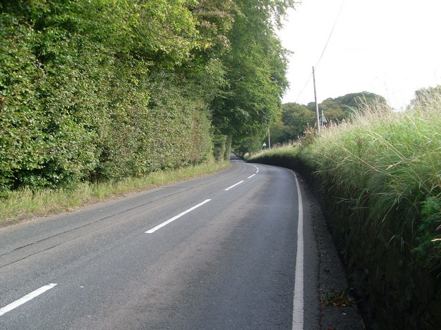 The B759 Cathkin Road