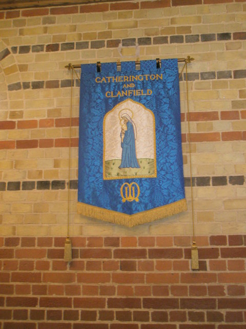 Banner within St James, Clanfield (1)