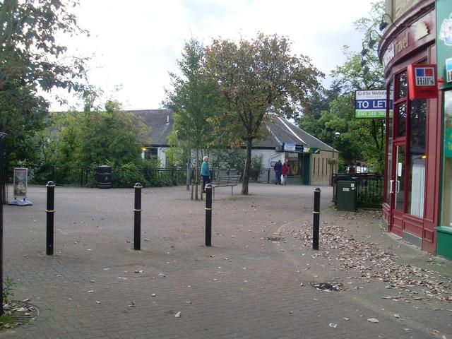 Douglas Street, Milngavie town centre