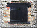 TQ7458 : Hatch Detail of the Oast House at The Museum of Kent Life by Oast House Archive