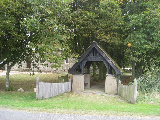 Lych Gate - View from B1200
