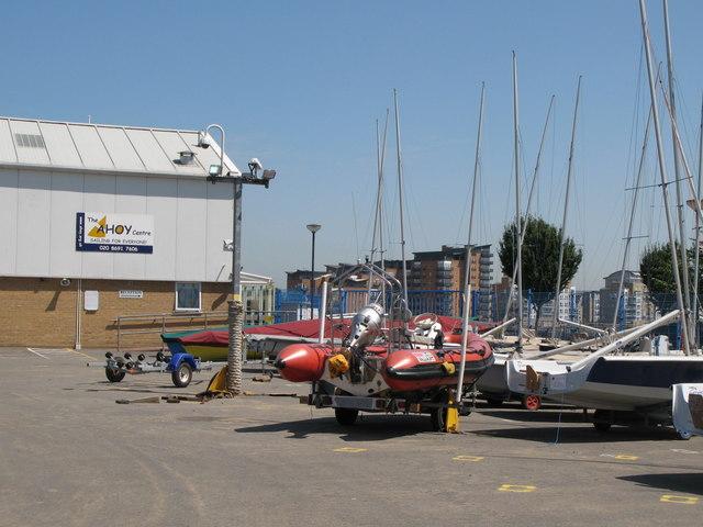 The Ahoy Centre, Borthwick Street / Deptford Green, SE8