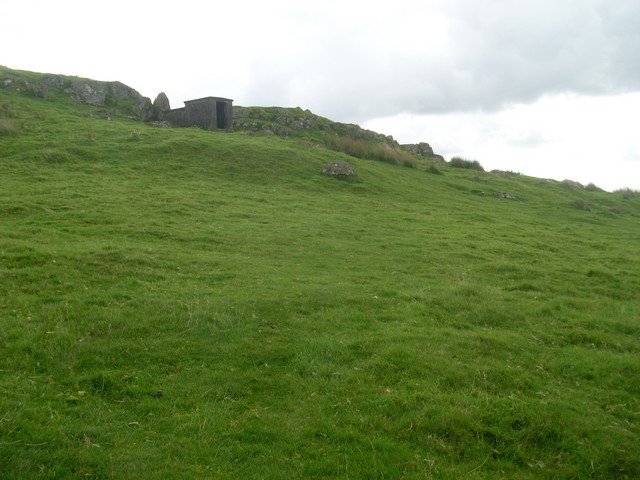 Small hut on the Campsie Fells