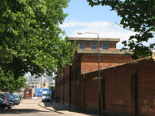 Electricity sub-station building, Deptford Green, SE8