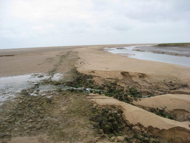 Saltfleet Haven at Low Tide