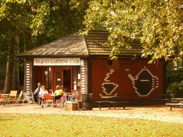 Isle of Dogs: Island Gardens Café
