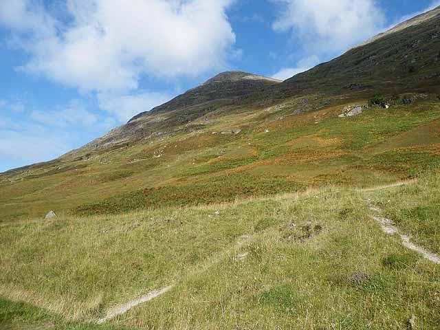 Slopes of Sgorr nam Fiannaidh